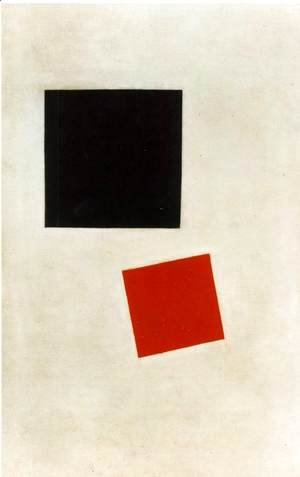 Black Square and Red Square