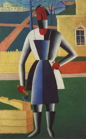 Kazimir Severinovich Malevich - Carpenter
