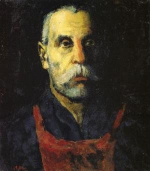 Kazimir Severinovich Malevich - Portrait of a Man 2