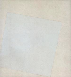Kazimir Severinovich Malevich - Suprematist Composition White on White