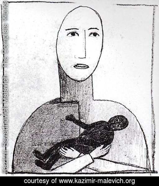 Kazimir Severinovich Malevich - Motherhood