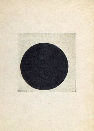 Kazimir Severinovich Malevich - Composition with a black circle