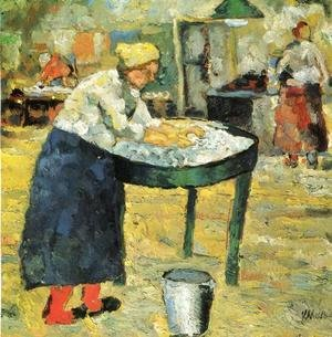 Kazimir Severinovich Malevich - Laundress 2