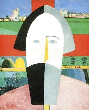 Kazimir Severinovich Malevich - Head of Peasant 2