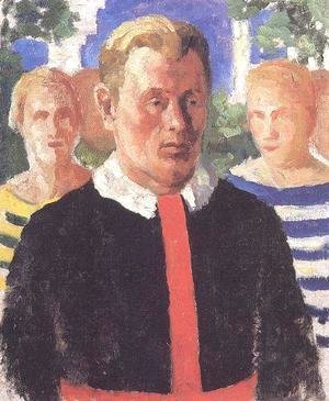 Kazimir Severinovich Malevich - Portrait of a Man 3