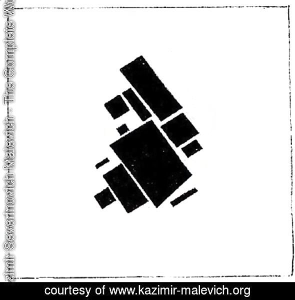Kazimir Severinovich Malevich - Suprematic compositional elements