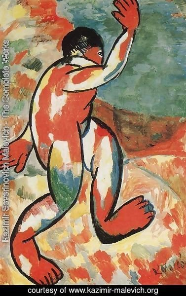Kazimir Severinovich Malevich - A Bather