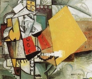 Kazimir Severinovich Malevich - A Soldier Of The Guards