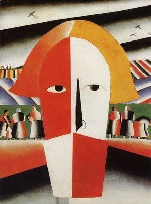 Kazimir Severinovich Malevich - Head Of A Peasant