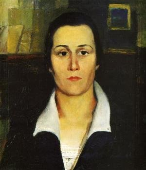 Kazimir Severinovich Malevich - Portrait Of A Woman
