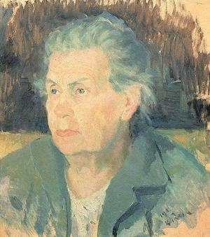Kazimir Severinovich Malevich - Portrait Of The Artists Mother