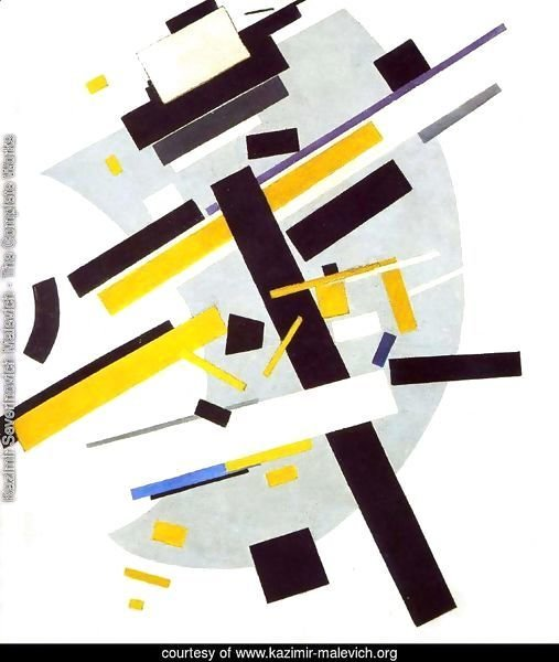Suprematism (Supremus N58 With Yellow And Black)