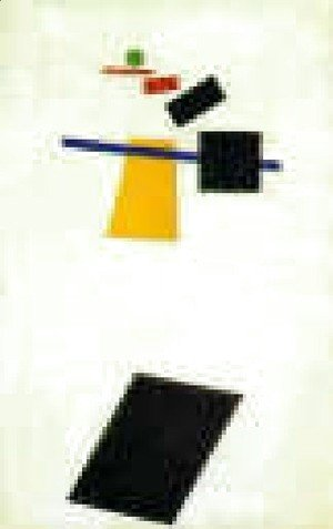 Suprematism  Painter Like Realism Of A Football Player  Color Masses Of The Fourth Dimension