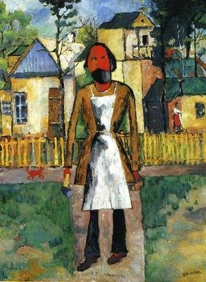 Kazimir Severinovich Malevich - The Carpenter