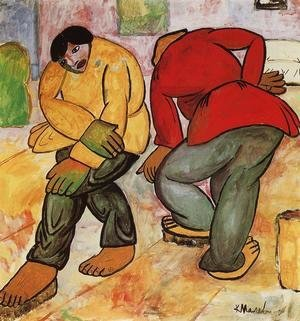 Kazimir Severinovich Malevich - The Floor Polishers