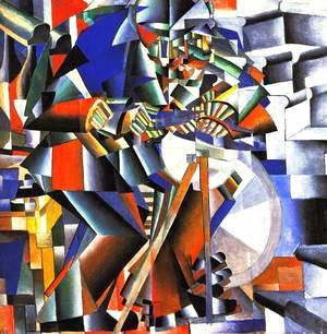Kazimir Severinovich Malevich - The Knife Sharpener