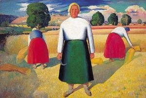 Kazimir Severinovich Malevich - The Reapers