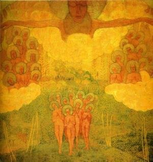 Kazimir Severinovich Malevich - Triumph Of The Heavens